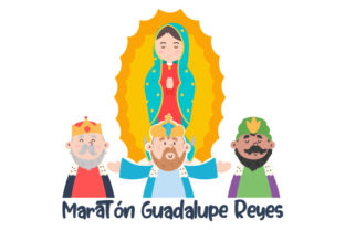 Maratón Guadalupe Reyes Mexico Craft Cut File By Creative Fabrica Crafts