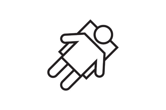 Astronaut Line Icon Graphic By Rifkihaikal567 Creative Fabrica