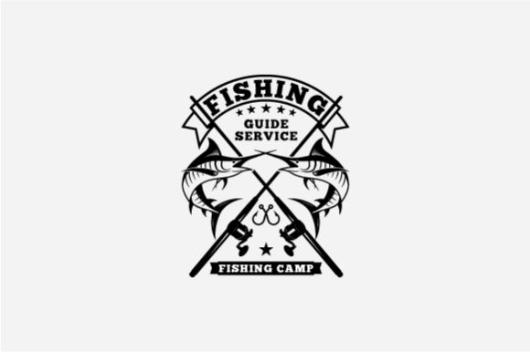 Fishing Logo Graphic Logos By octopusgraphic