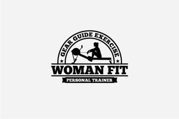 Fitness Logo Badge Graphic Logos By octopusgraphic