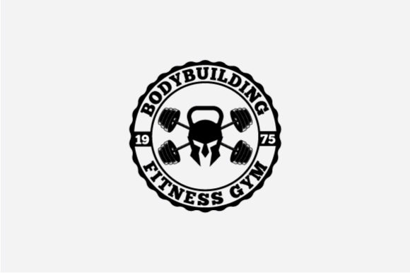 Download Free Fitness Logo Badge Graphic By Octopusgraphic Creative Fabrica SVG Cut Files