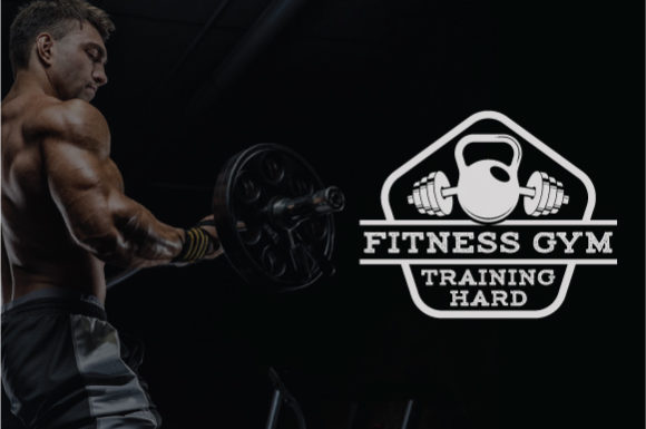 Download Free Fitness Logo Badge Graphic By Octopusgraphic Creative Fabrica for Cricut Explore, Silhouette and other cutting machines.