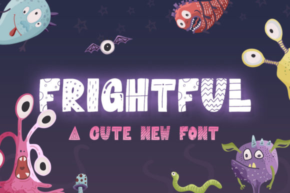 Print on Demand: Frightful Display Font By Salt & Pepper Designs