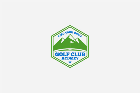 Download Free Golf Logo Graphic By Shazdesigner Creative Fabrica for Cricut Explore, Silhouette and other cutting machines.