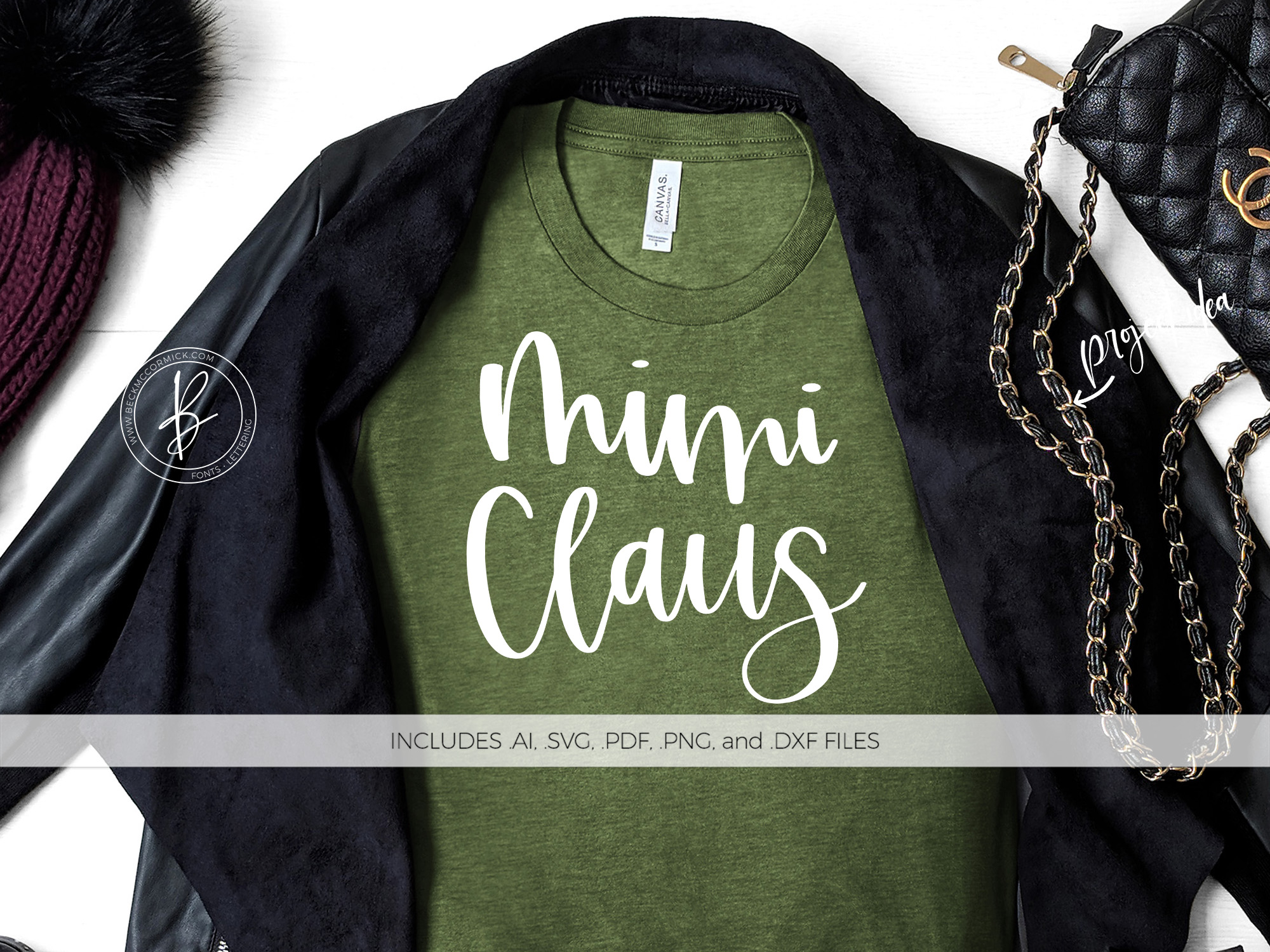 Mimi Claus Graphic By Beckmccormick Creative Fabrica