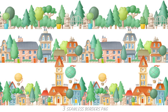 Print on Demand: Old Town Scene Creator Graphic Illustrations By Architekt_AT - Image 5