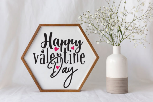 Print on Demand: Valentine Design Bundle Vol 1 Graphic Crafts By OrinDesign - Image 8