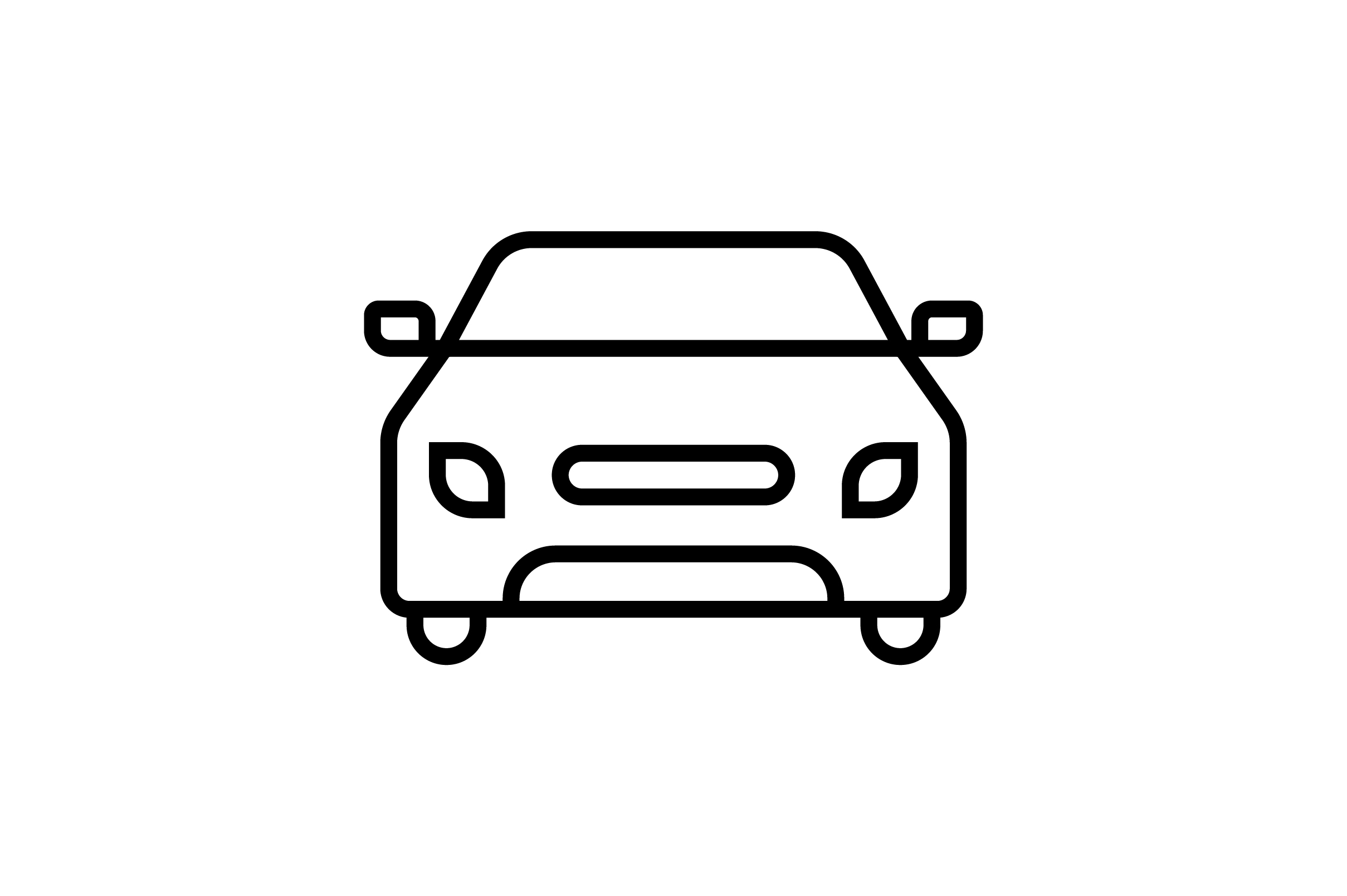 Download Free Car Line Art Vector Icon Graphic By Riduwan Molla Creative Fabrica for Cricut Explore, Silhouette and other cutting machines.