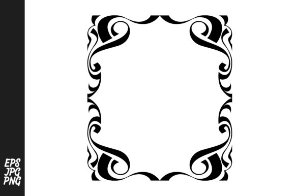 Download Free Frame Ornament Vector Decoration Graphic By Arief Sapta Adjie for Cricut Explore, Silhouette and other cutting machines.