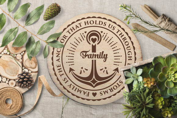 Print on Demand: Love Family Quotes. SVG Bundle Graphic Crafts By millerzoa - Image 14