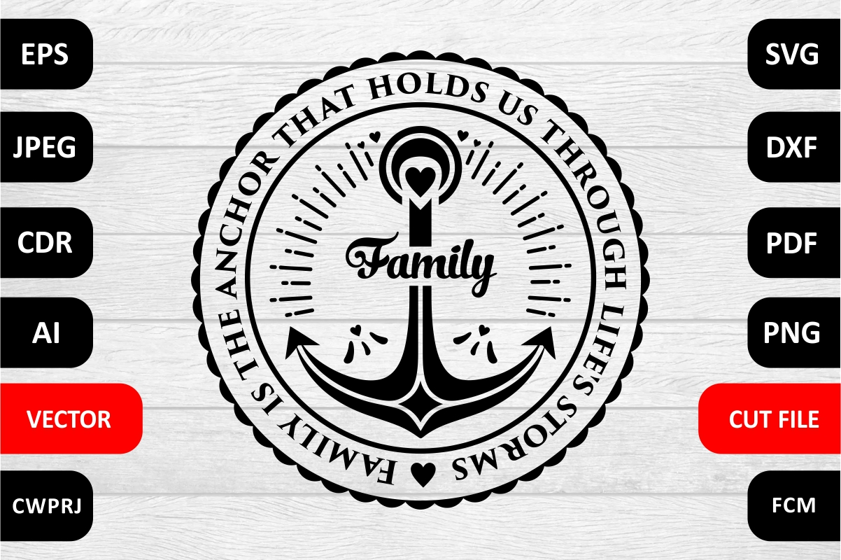 Download Free Love Family Quote Cut File Grafik Von Millerzoa Creative Fabrica for Cricut Explore, Silhouette and other cutting machines.