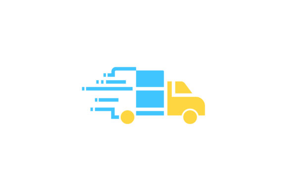 Download Free Delivery Flat Icon Vector Graphic By Riduwan Molla Creative for Cricut Explore, Silhouette and other cutting machines.