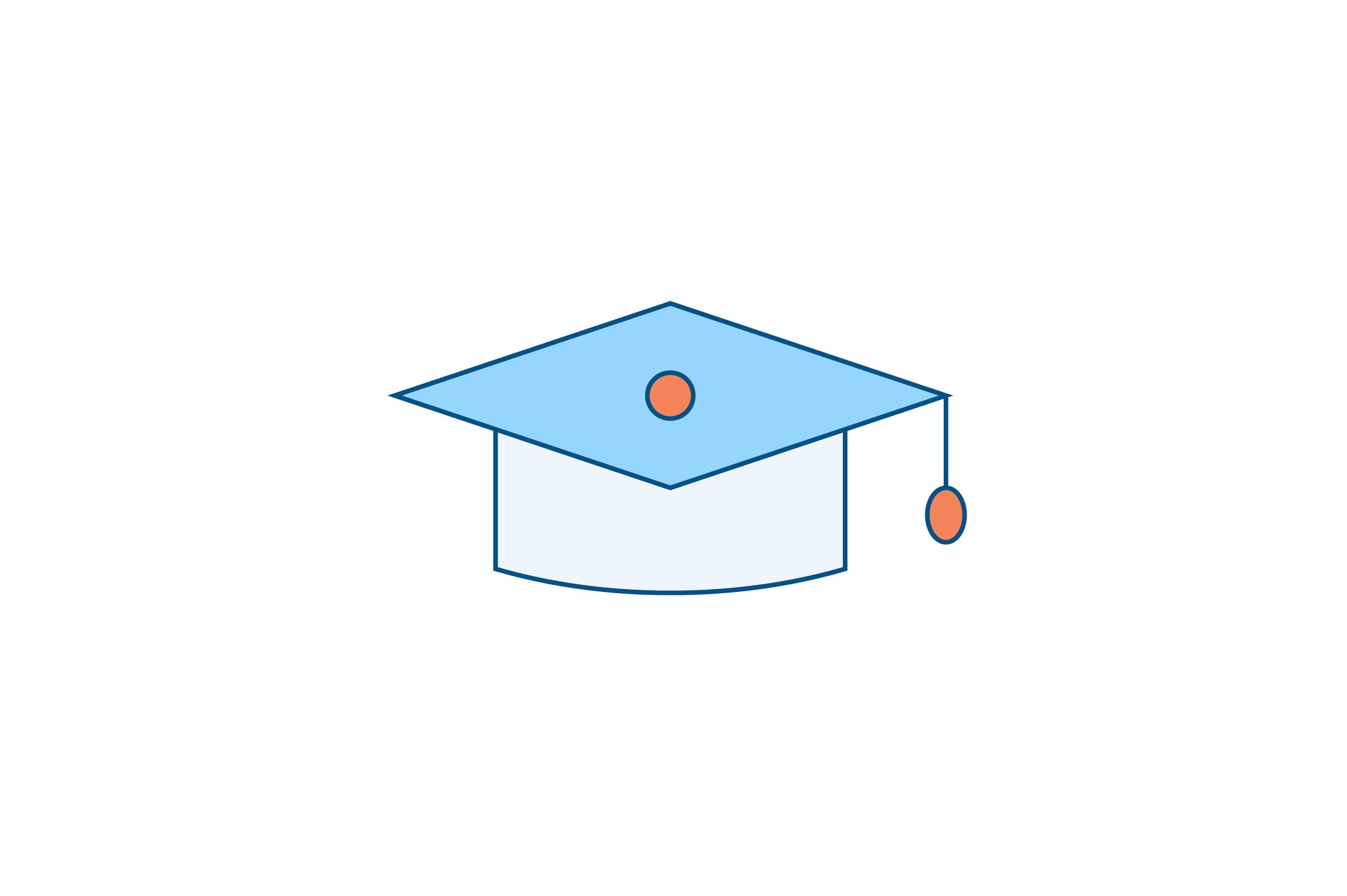 Download Free Graduation Cap Liner Fill Icon Vector Graphic By Riduwan Molla for Cricut Explore, Silhouette and other cutting machines.