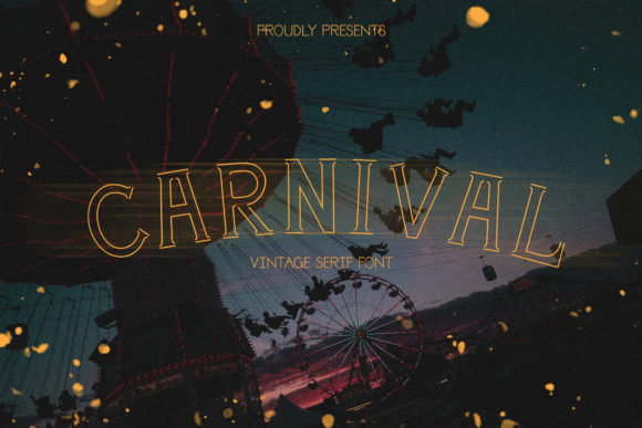 Print on Demand: Carnival Serif Font By White Supply