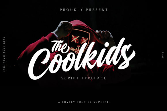 Print on Demand: Coolkids Script & Handwritten Font By Superkij - Image 1