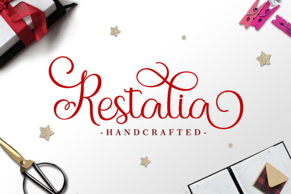 Print on Demand: Holistya Script & Handwritten Font By Holydie Studio - Image 2