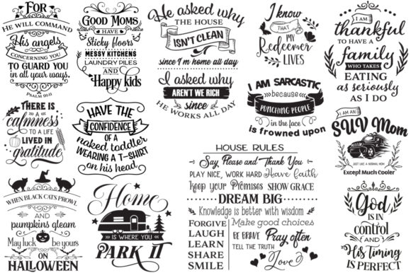 Print on Demand: The Best-Sellers Cut Files Pack Graphic Crafts By Nerd Mama Cut Files - Image 4