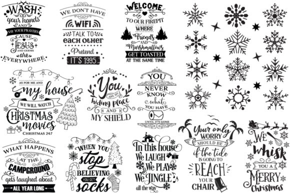 Print on Demand: The Best-Sellers Cut Files Pack Graphic Crafts By Nerd Mama Cut Files - Image 8