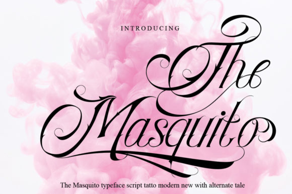 Print on Demand: The Masquito Script & Handwritten Font By jehansyah251