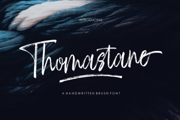 Print on Demand: Thomastane Script & Handwritten Font By JhoelDesign