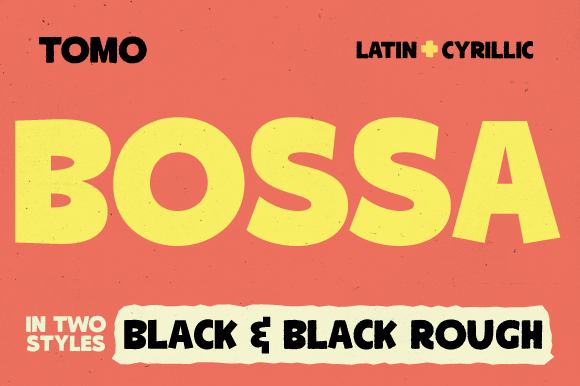 Print on Demand: Tomo Bossa Display Font By TOMO Fonts - Image 1