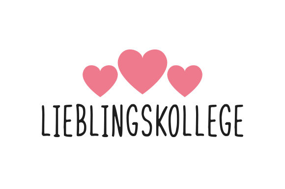 Download Free Lieblingskollege Svg Cut File By Creative Fabrica Crafts for Cricut Explore, Silhouette and other cutting machines.