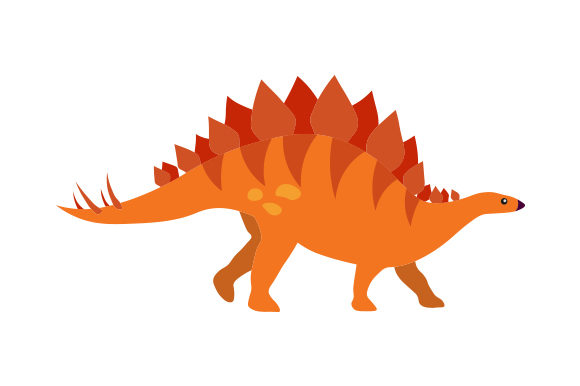 Stegosaurus Dinosaurs Craft Cut File By Creative Fabrica Crafts