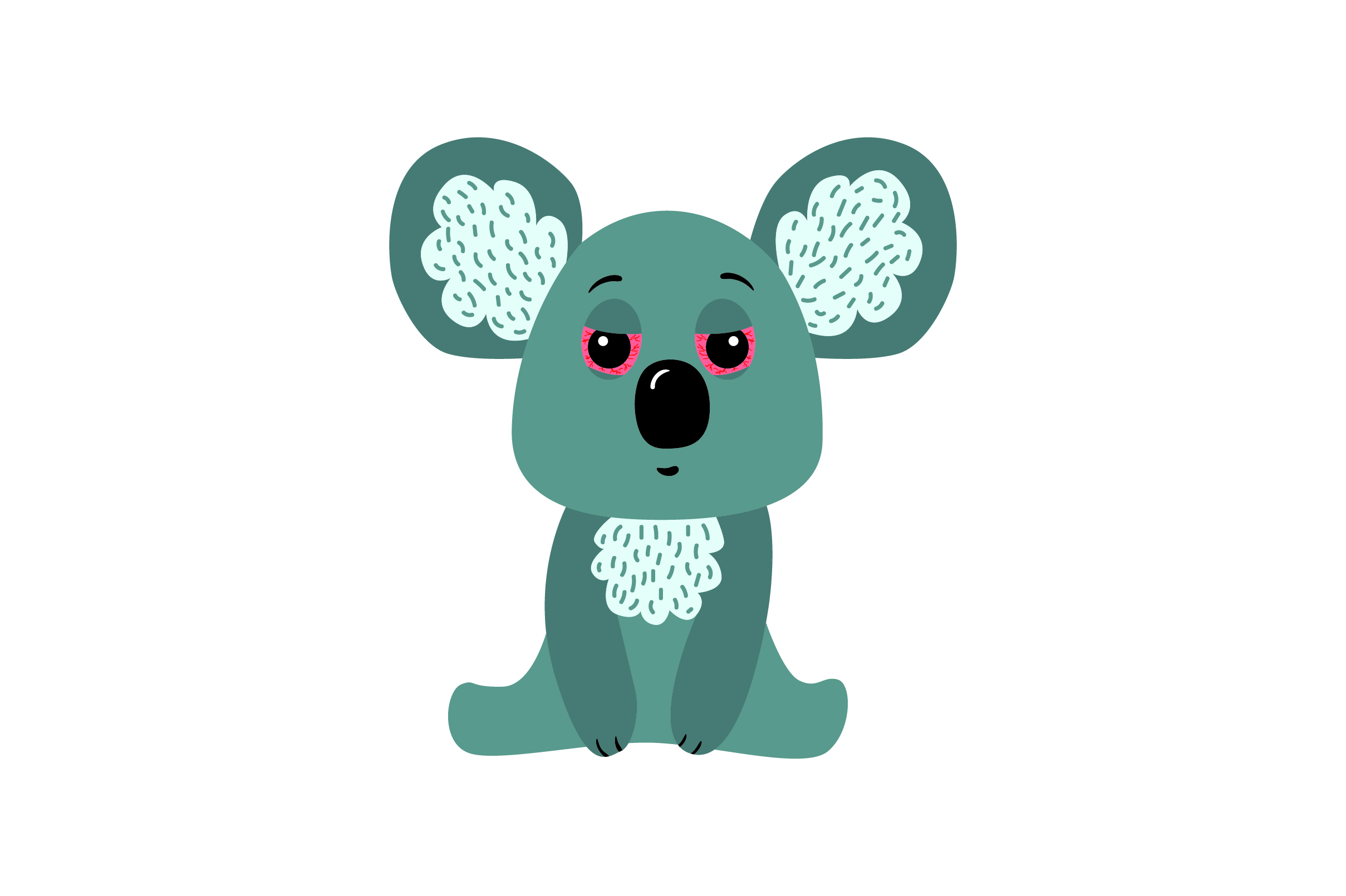 Download Free Sleepy Koala Svg Cut File By Creative Fabrica Crafts Creative for Cricut Explore, Silhouette and other cutting machines.