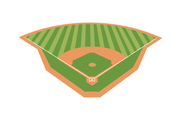 Download Free Baseball Field Svg Cut File By Creative Fabrica Crafts for Cricut Explore, Silhouette and other cutting machines.