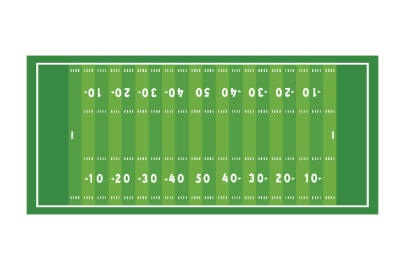 Football Field Sports Craft Cut File By Creative Fabrica Crafts