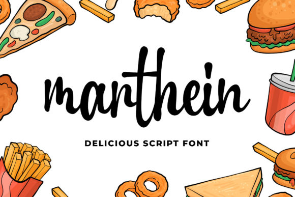 Print on Demand: Marthein Script & Handwritten Font By Blankids Studio