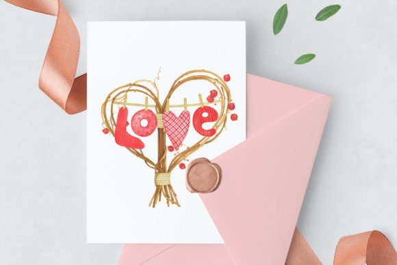 Download Free Valentine S Day Clipart Graphic By Tpushnaya Creative Fabrica for Cricut Explore, Silhouette and other cutting machines.