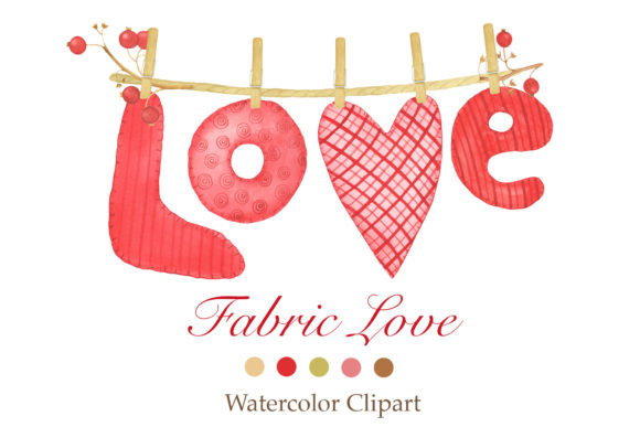 Print on Demand: Valentine's Day Clipart Graphic Illustrations By tpushnaya