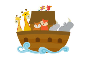 Noah's Ark Religious Craft Cut File By Creative Fabrica Crafts