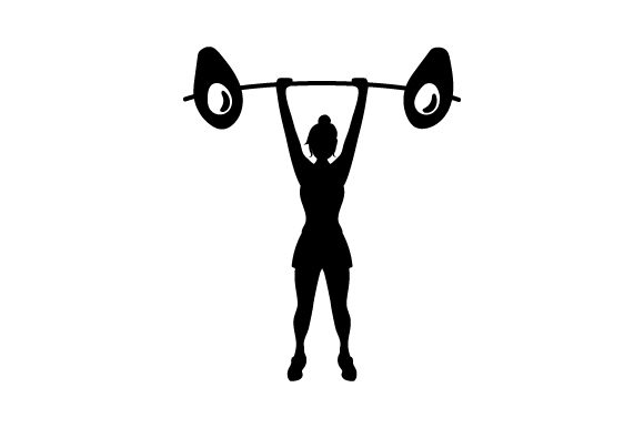 Download Free Avocado Weight Lifter Woman Svg Cut File By Creative Fabrica for Cricut Explore, Silhouette and other cutting machines.