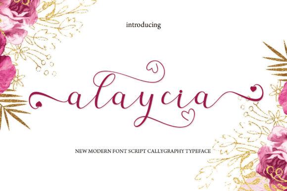 Print on Demand: Alaycia Script & Handwritten Font By MYdesign