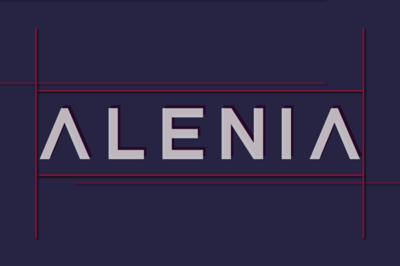 Print on Demand: Alenia Display Font By Shanaya Creative - Image 1