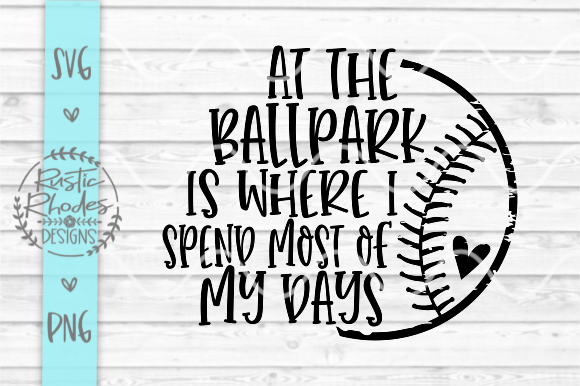 Download Free At The Ball Park Graphic By Samantharhodes14 Creative Fabrica for Cricut Explore, Silhouette and other cutting machines.