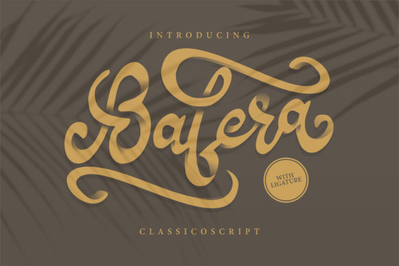 Print on Demand: Bafera Script & Handwritten Font By Vunira