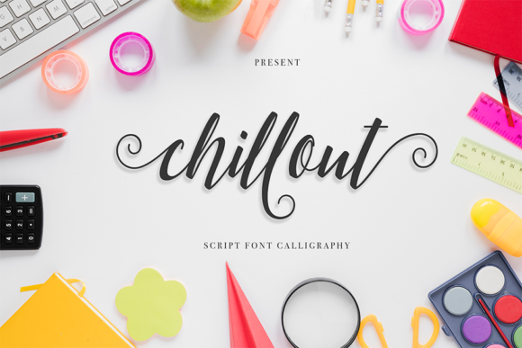 Print on Demand: Chillout Script & Handwritten Font By Best Font Studio
