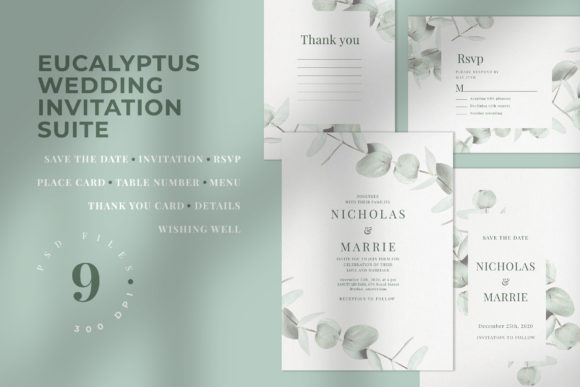 Download Free Wedding Invitation Bundle 20 Sets In 1 Bundle Creative Fabrica for Cricut Explore, Silhouette and other cutting machines.