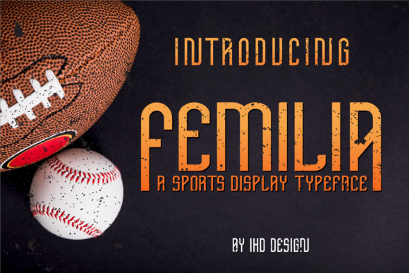 Print on Demand: Femilia Serif Font By Ikhsan Hidayat
