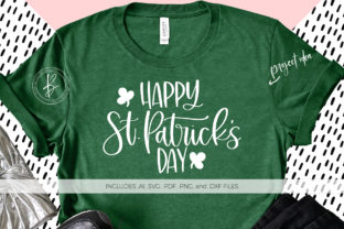 Print on Demand: Happy St. Patrick's Day Gráfico Crafts Por BeckMcCormick
