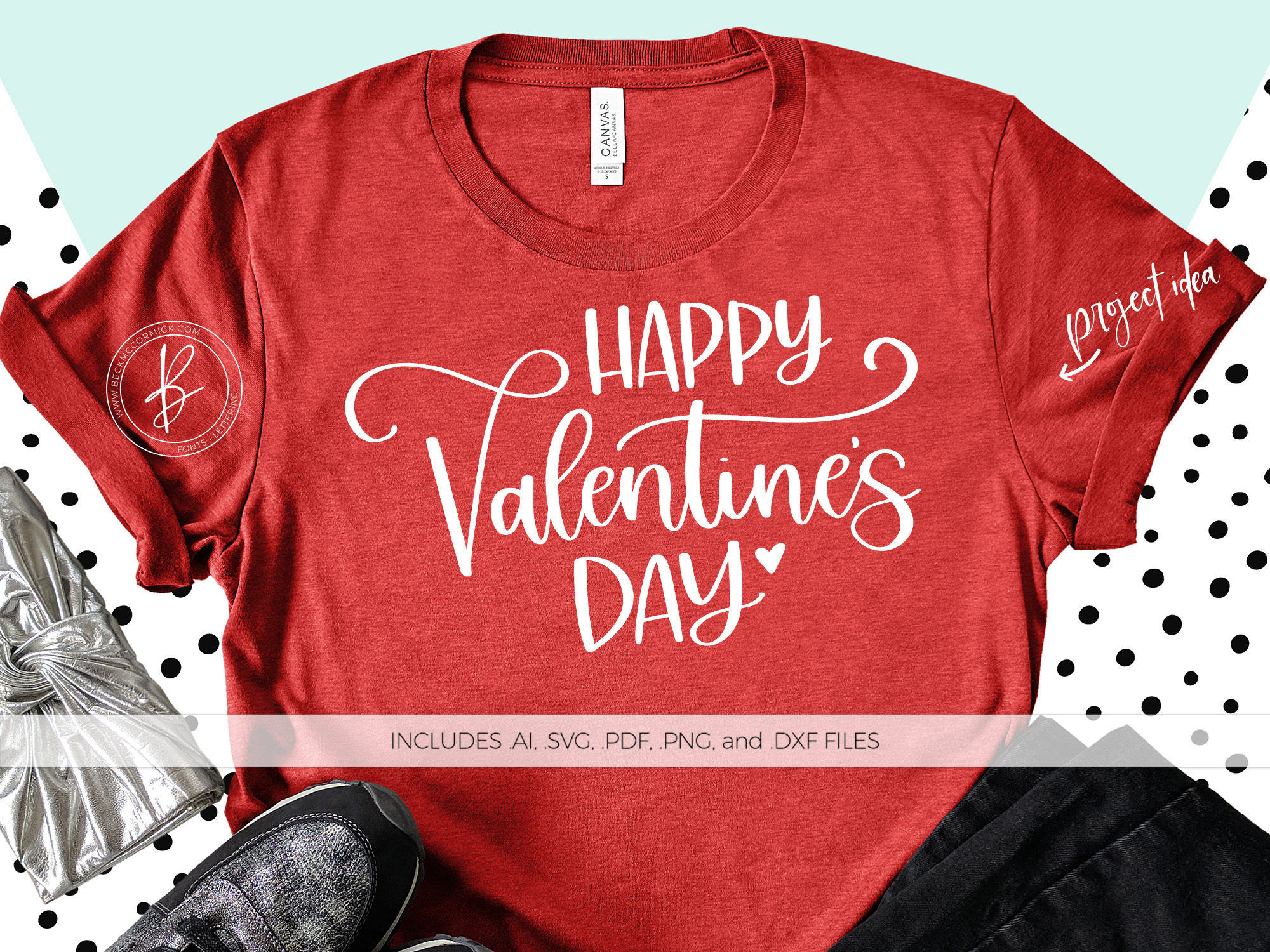 Download Free Happy Valentine S Day Graphic By Beckmccormick Creative Fabrica for Cricut Explore, Silhouette and other cutting machines.