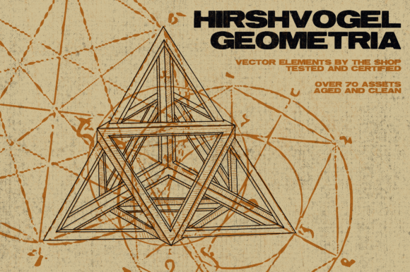 Hirschvogel Geometria Vector Assets Graphic Objects By theshopdesignstudio