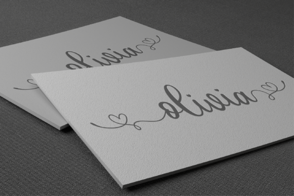 Print on Demand: Juliette Script & Handwritten Font By fanastudio - Image 9