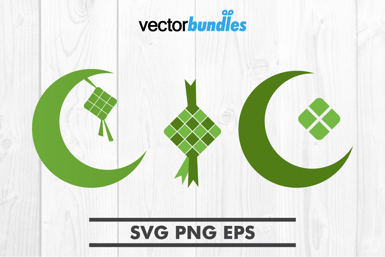 Download Free Ketupat Clip Art Graphic By Vectorbundles Creative Fabrica for Cricut Explore, Silhouette and other cutting machines.