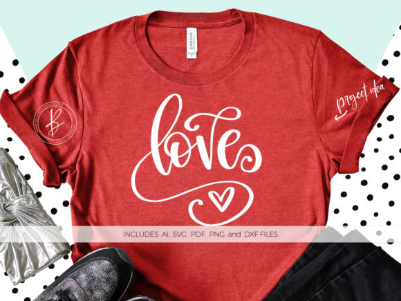 Print on Demand: Love Graphic Crafts By BeckMcCormick - Image 1