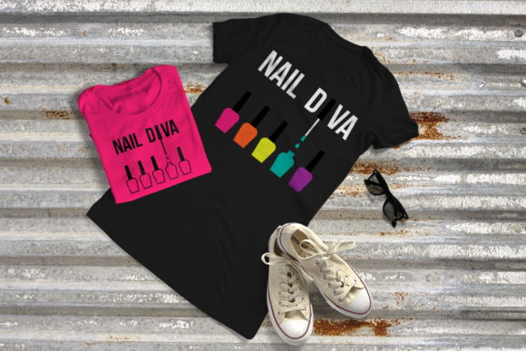 Nail Diva Graphic Crafts By DesignedByGeeks