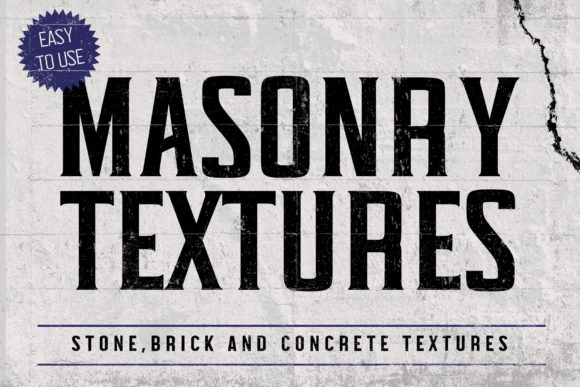 Print on Demand: Premium Masonry Texture Pack Graphic Textures By denestudios